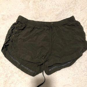 RUE 21 Green shorts